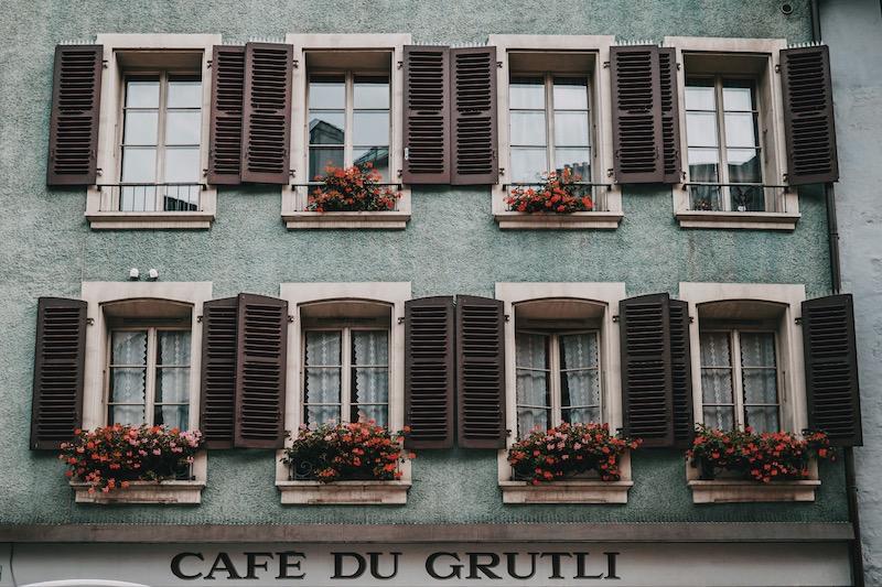 Lausanne Cafe du Grutli