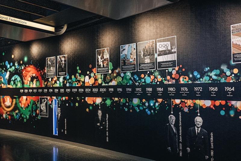 Lausanne Olympisches Museum Ausstellung