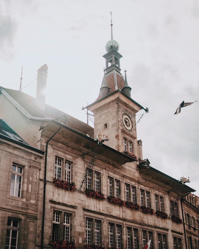 Lausanne Rathaus