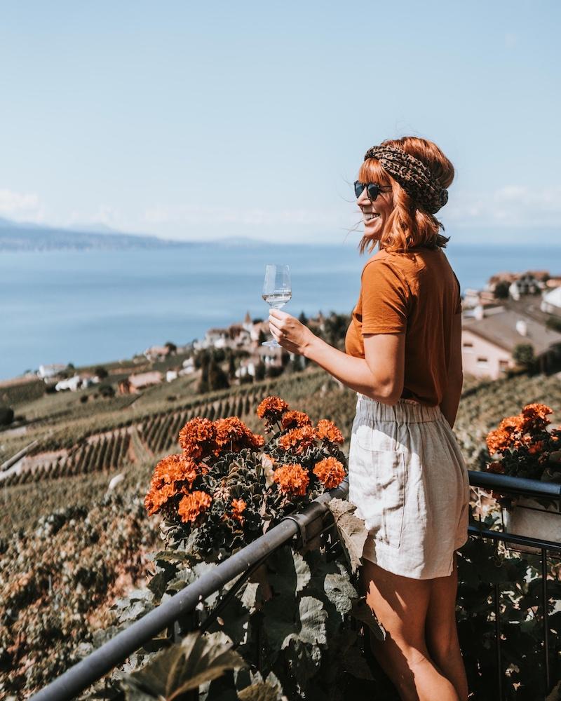 Lausanne, Genfer See und die malerische Weinregion Lavaux