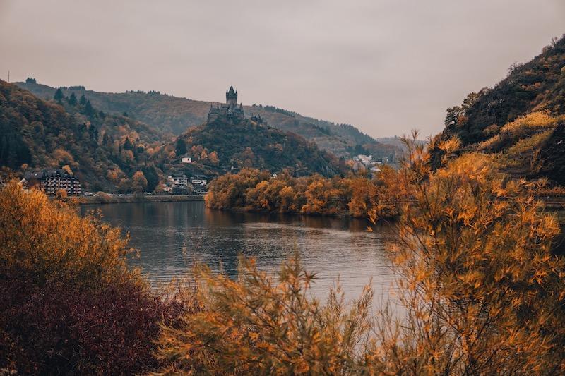 Cochem im Herbst