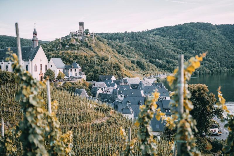 Mosel Urlaub Beilstein Burgruine Metternich