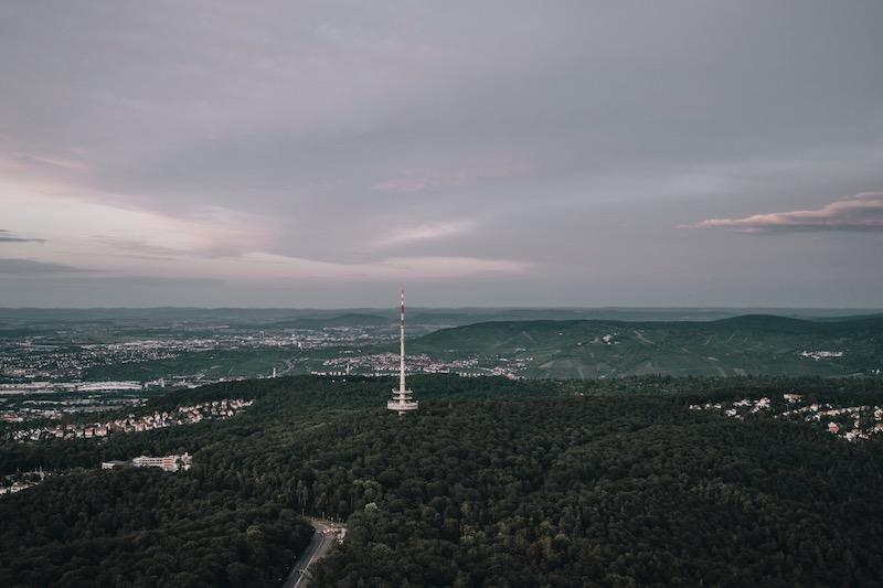 Ausblick Fernsehturm Stuttgart