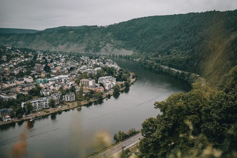 Ausblick Grevenburg Mosel