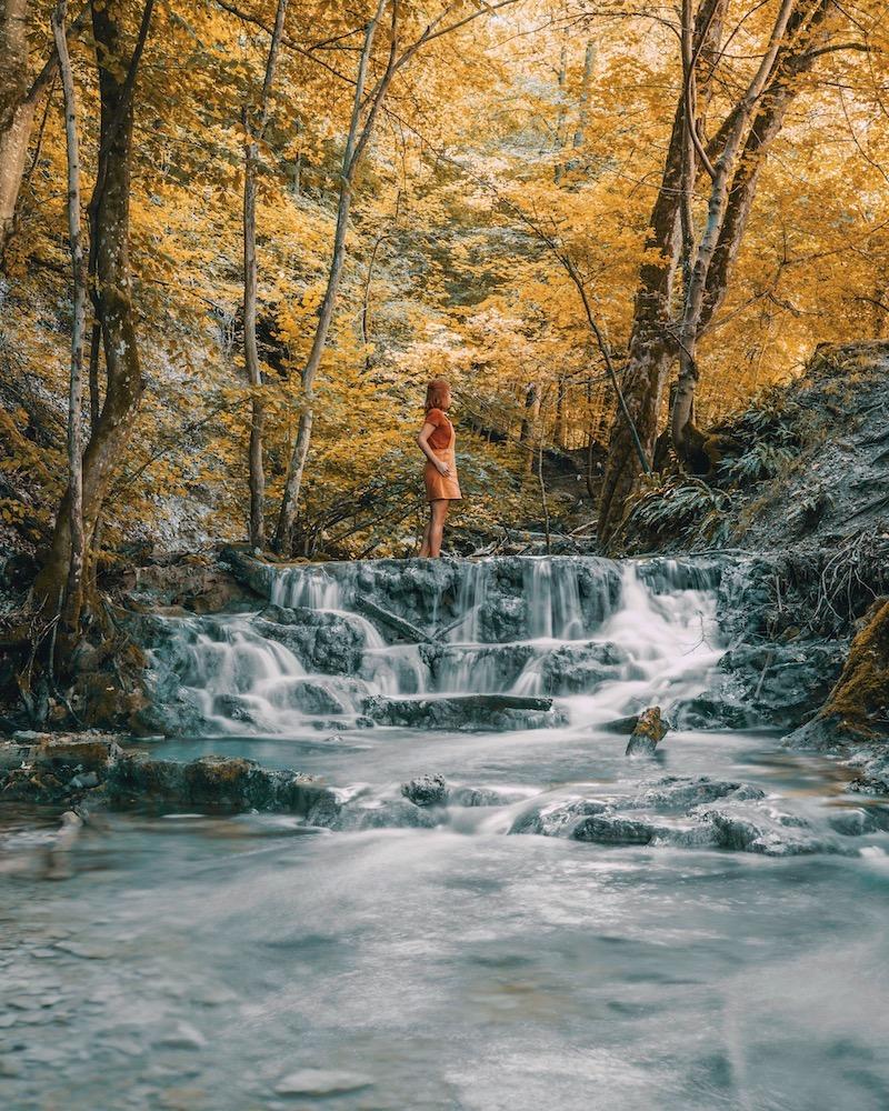 Ausflugsziele Stuttgart Bad Urach Wasserfall