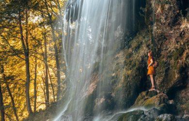 Ausflugsziele Stuttgart Uracher Wasserfall