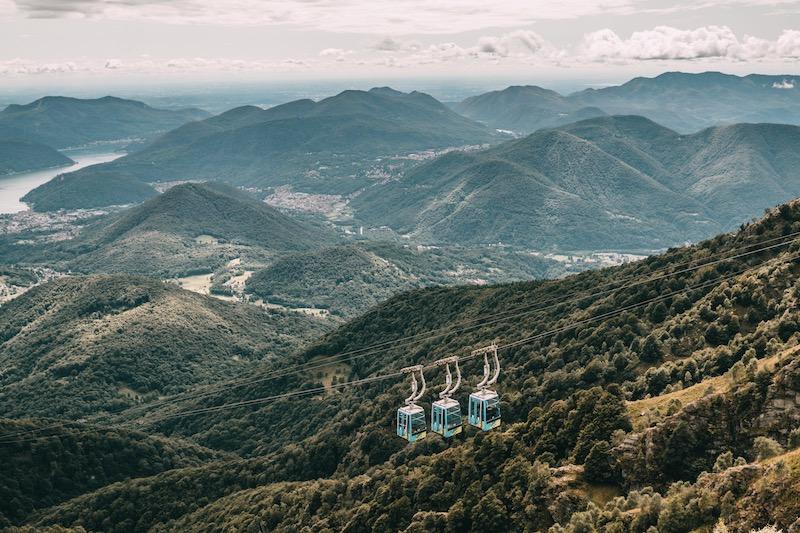 Bergbahn Monte Lema Tessin