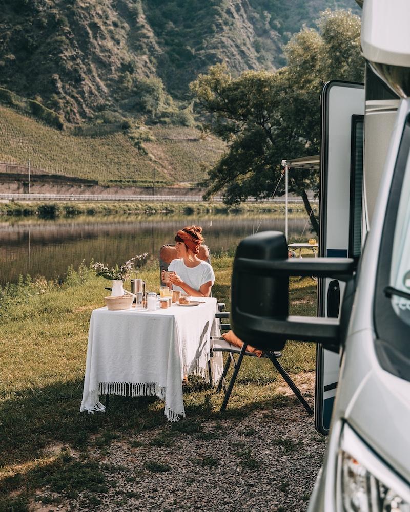 Camping an der Mosel