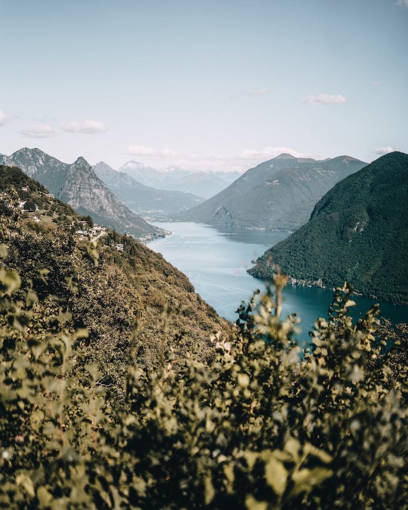 Lugano Tessin Monte Bre