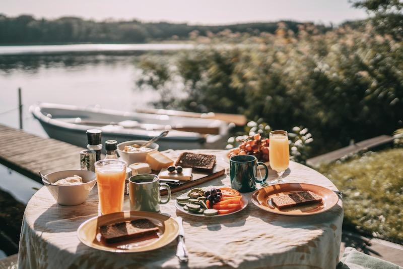Mecklenburgische Seenplatte Frühstück