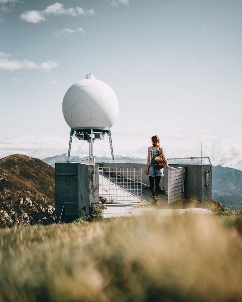 Monte Lema Wetterstation