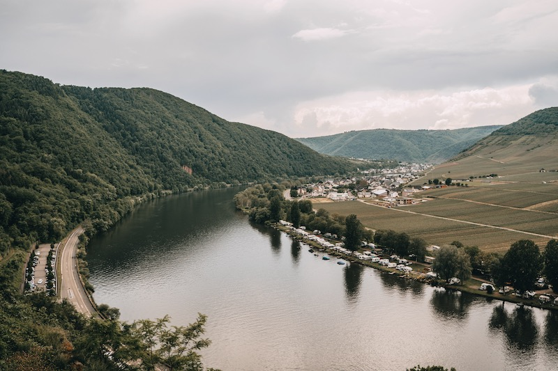Mosel Urlaub Ausblick Burg Metternich