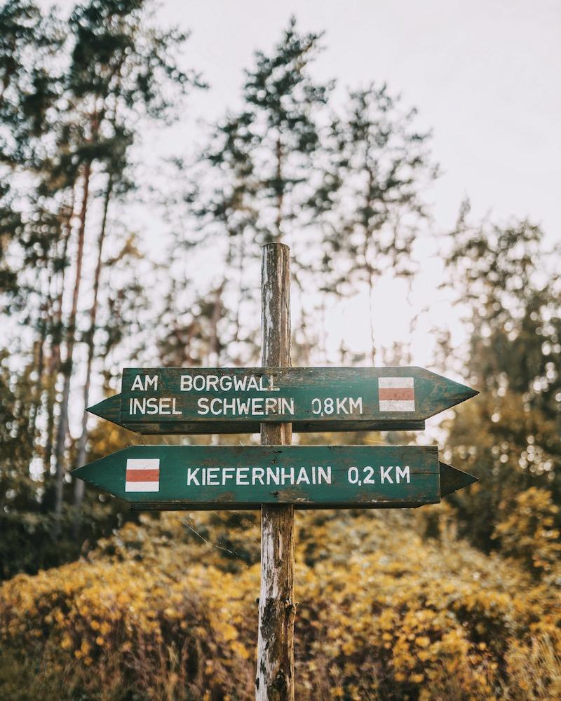 Radweg Mecklenburgische Seenplatte
