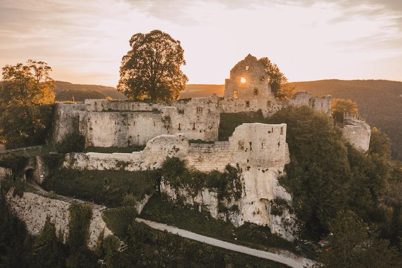 Ruine Hohenurach Ausflugsziele Stuttgart