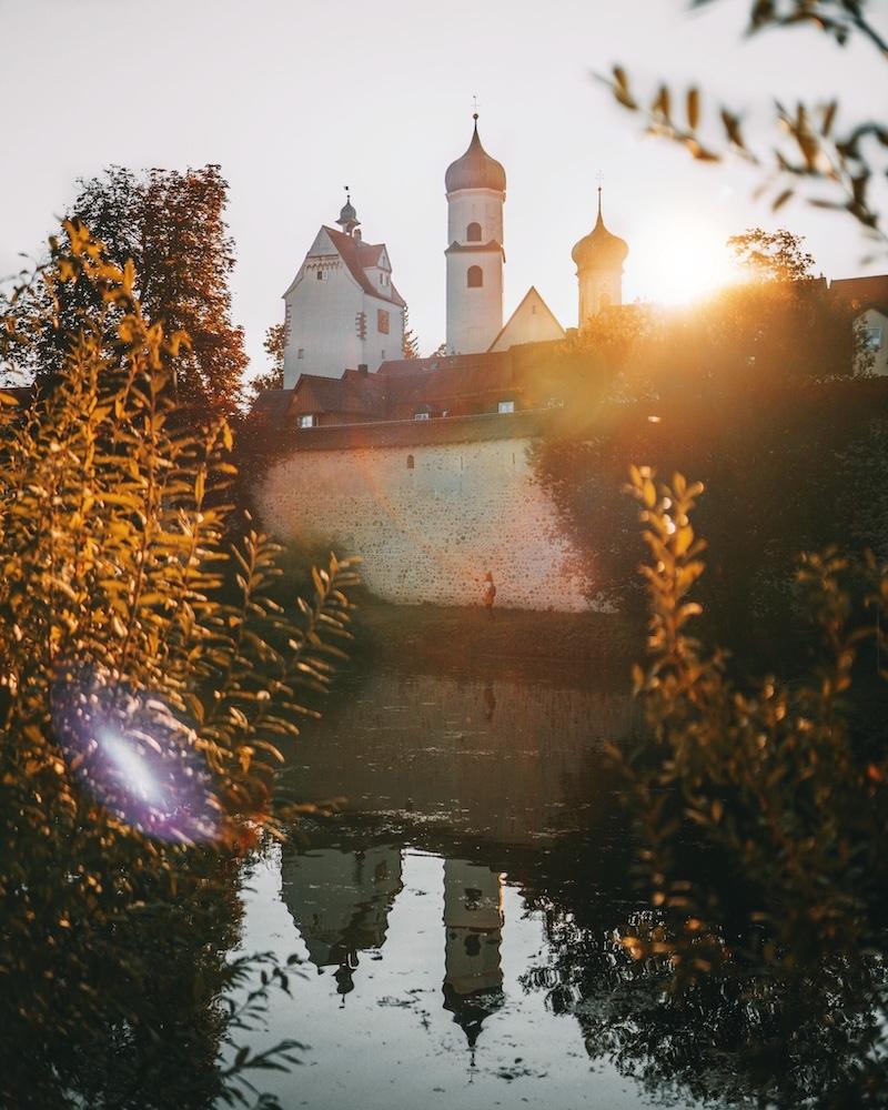 Isny Stadtmauer Kurpark
