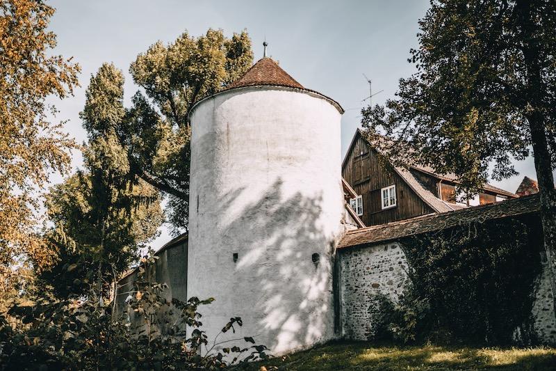 Mühlturm Stadtmauer Isny