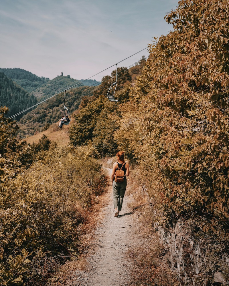 Cochem Sesselbahn Wanderweg