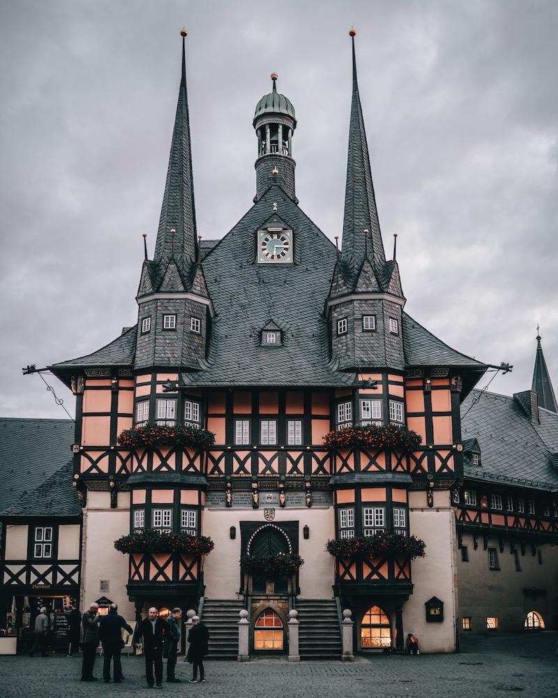 Harz Wernigerode Rathaus
