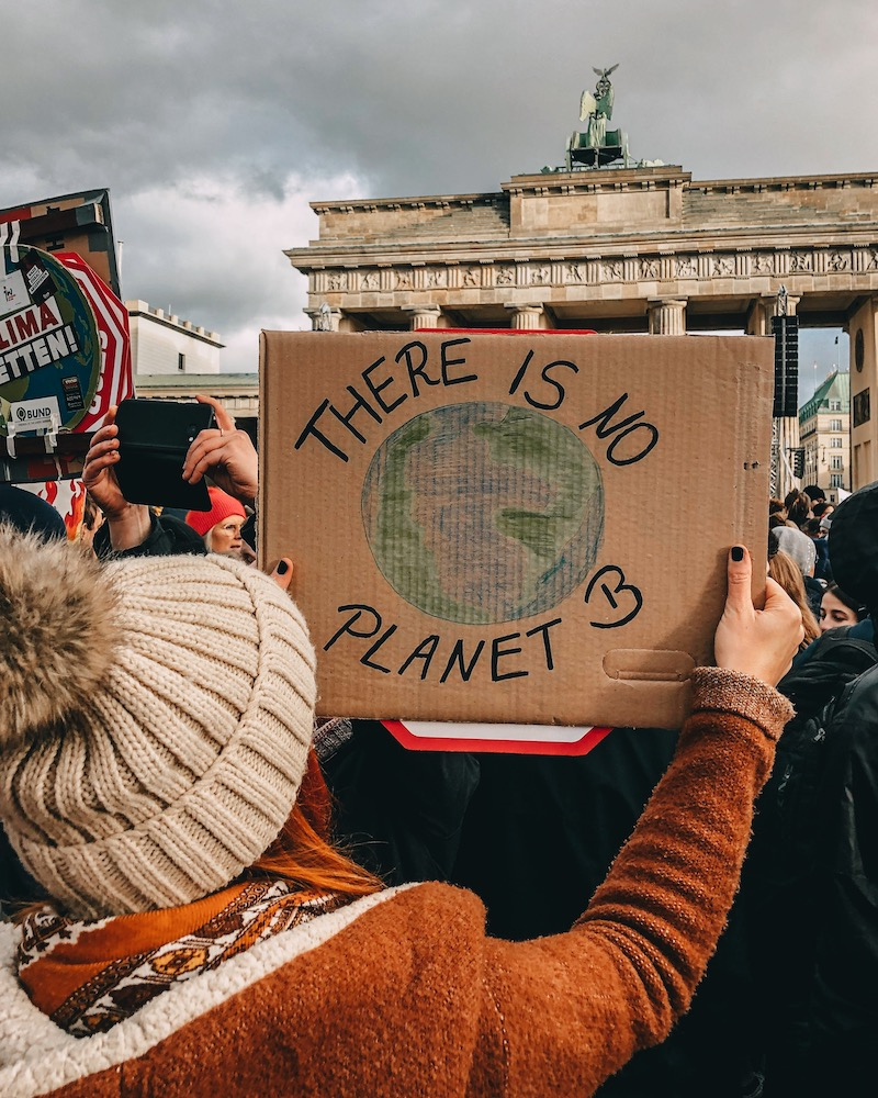 Klimastreik There is no planet B