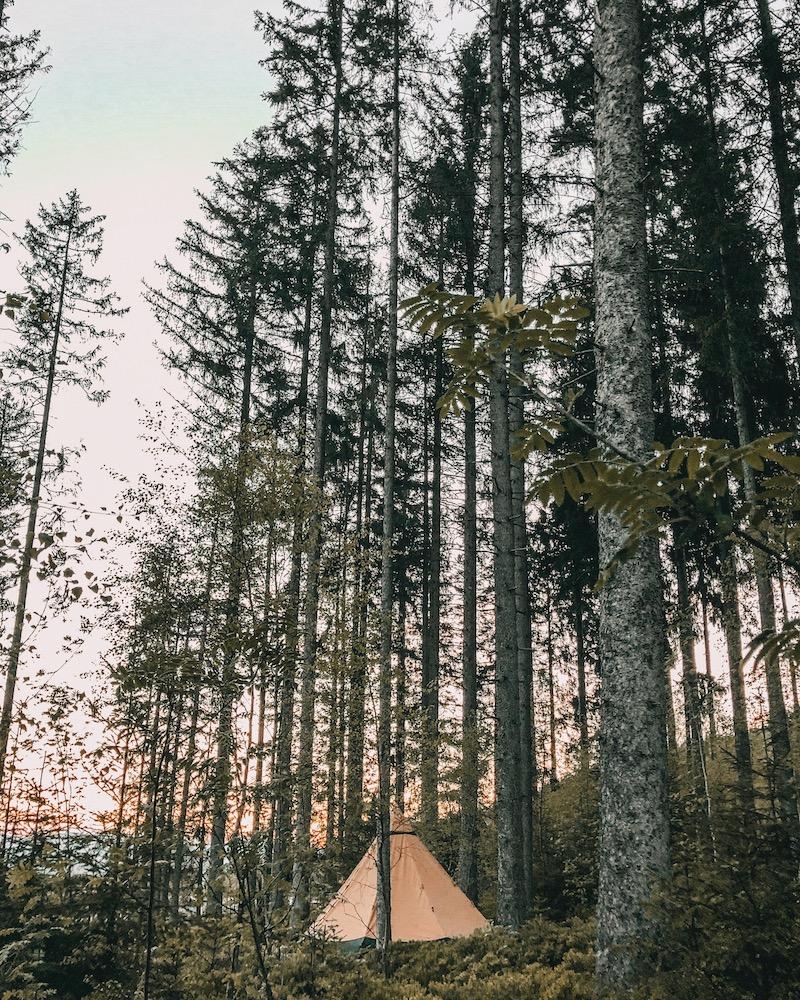 nachhaltige Geschenke Camping