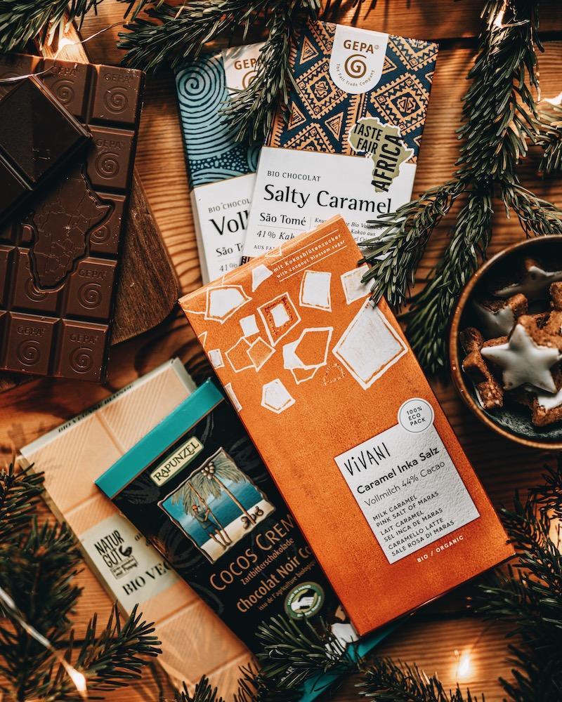 Nachhaltige Geschenke Schokolade