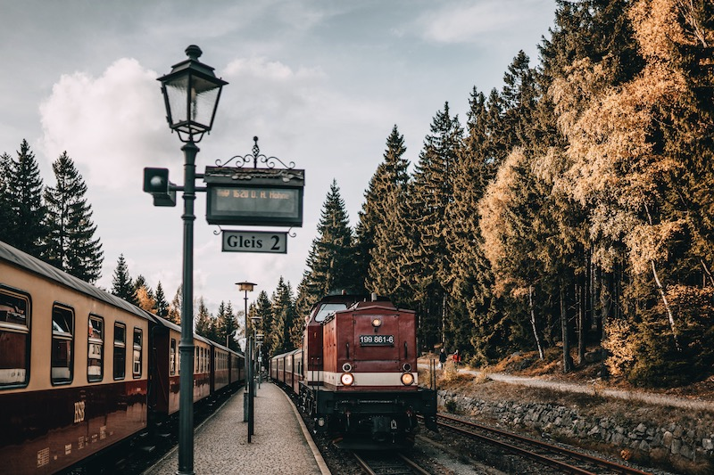 Urlaub im Harz Brockenbahn Schierke