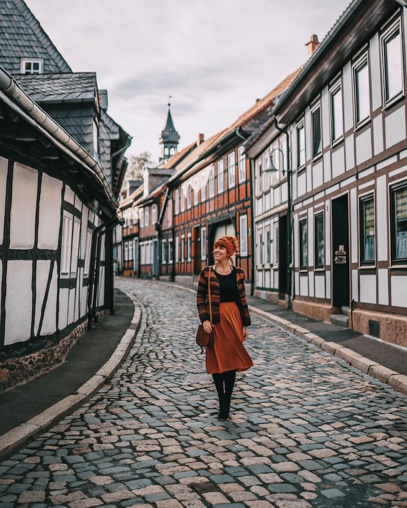 Urlaub im Harz Goslar Fachwerk