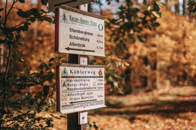 Urlaub im Harz Harzer Hexen Stieg
