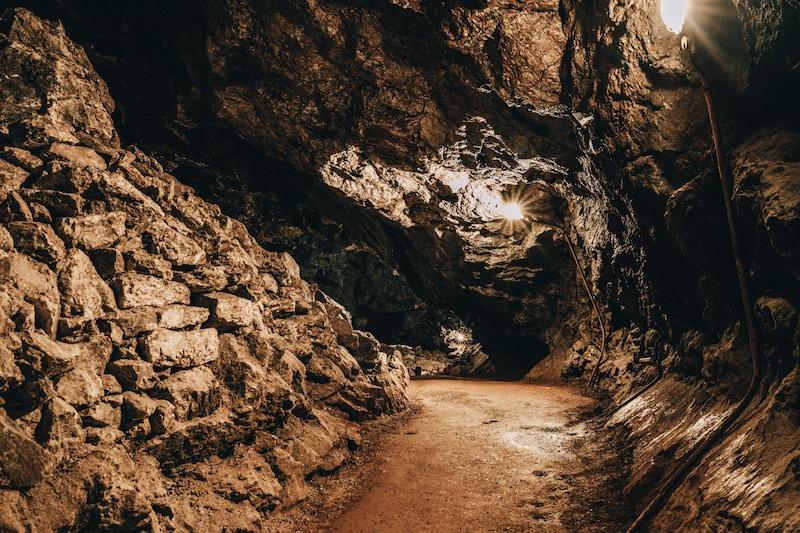 Urlaub im Harz Heimkehle Gipshöhle