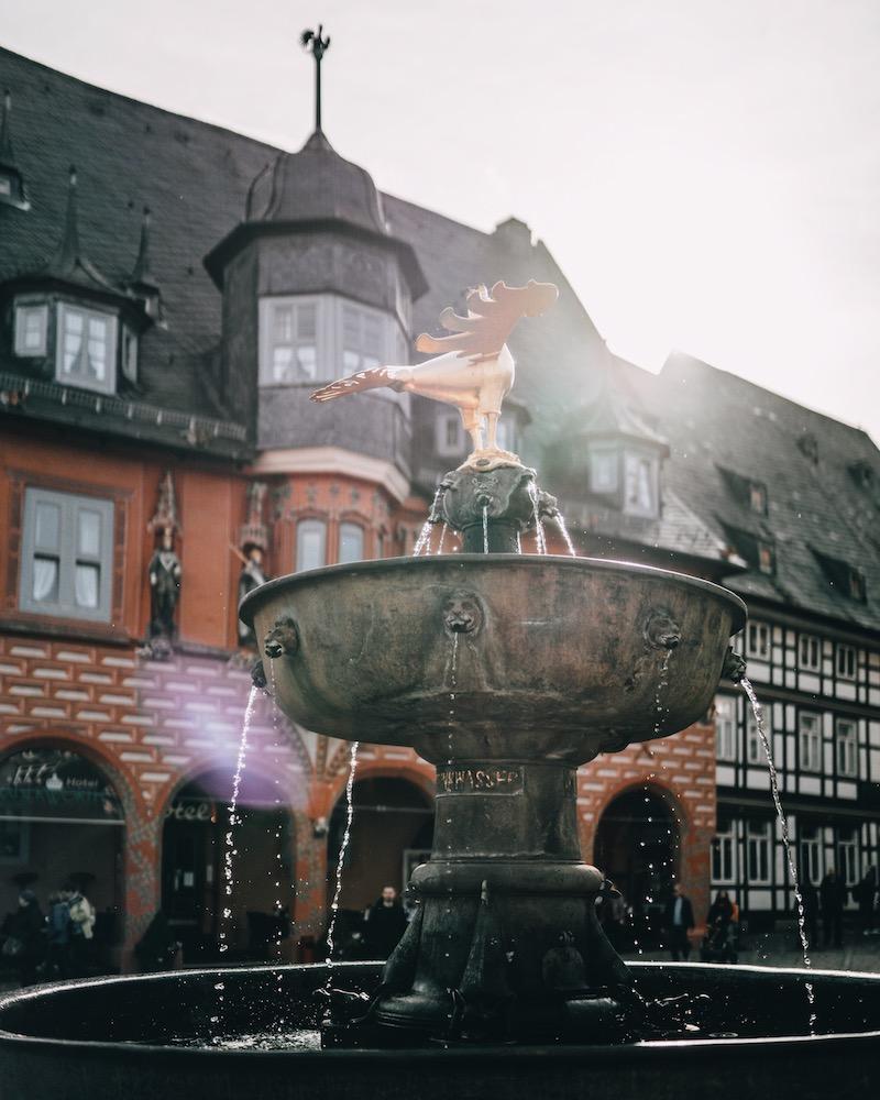 Urlaub im Harz Marktplatz Goslar