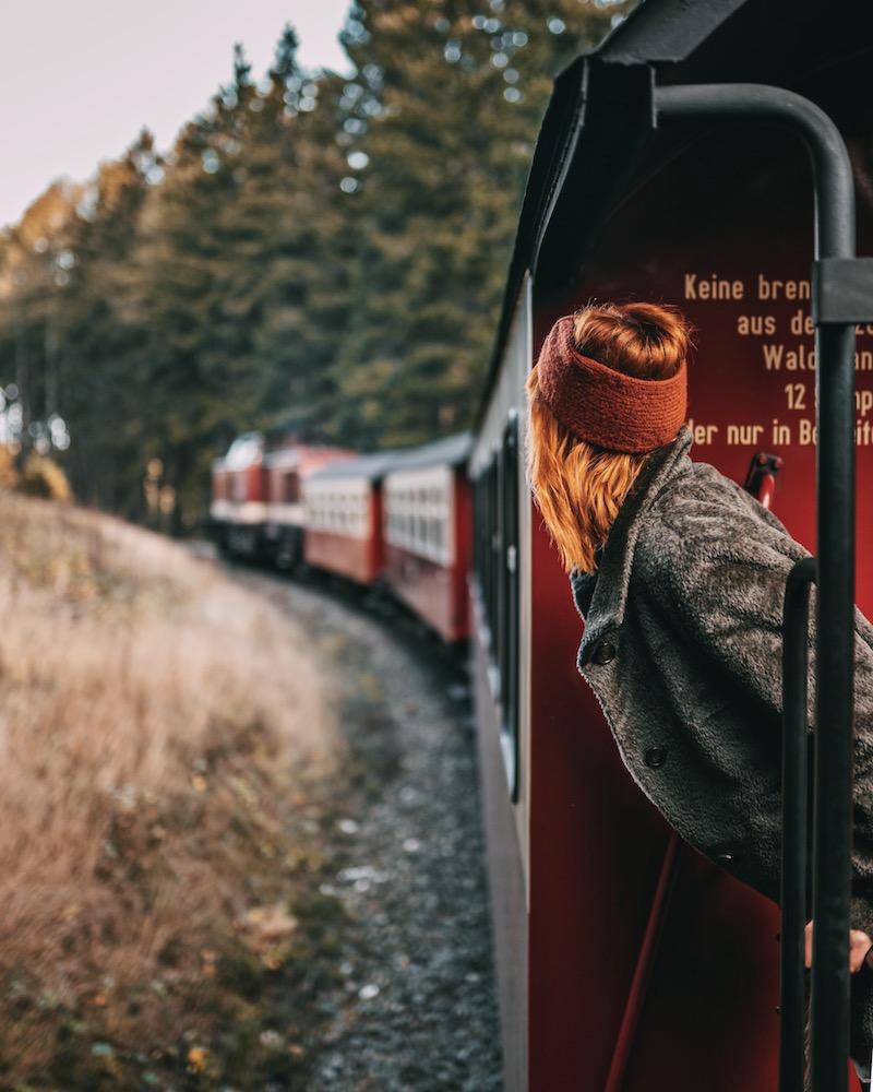 Urlaub im Harz Schierke Harzquerbahn