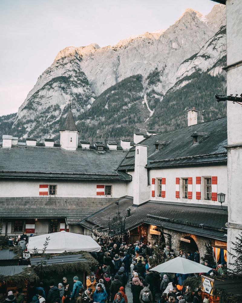 Adventmarkt Burg Hohenwerfen