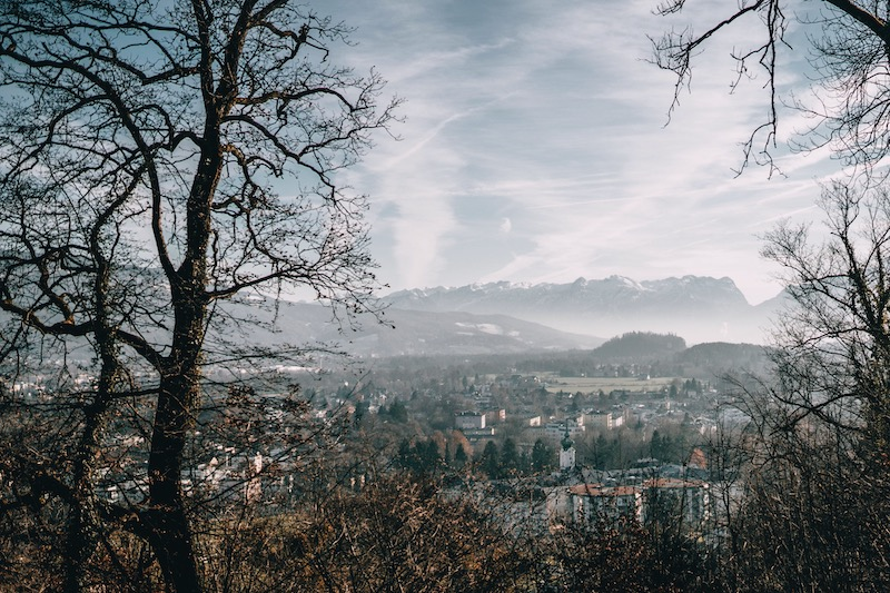 Ausblick Mönchsberg Salzburg