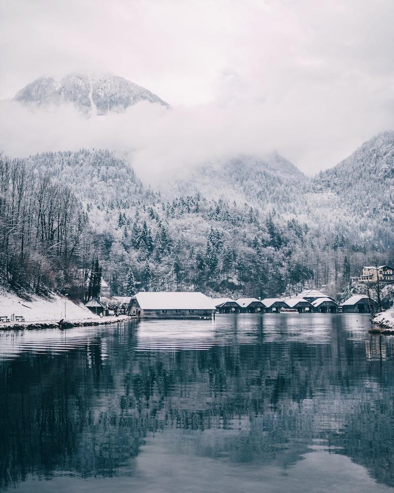 Berchtesgaden Königssee Dezember