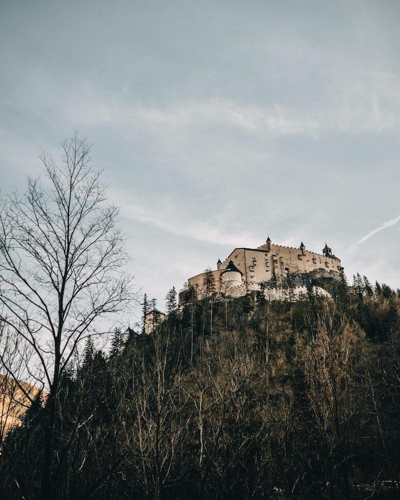 Burg Hohenwerfen Salzburger Land