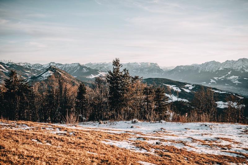 Gaisberg Salzburg im Winter