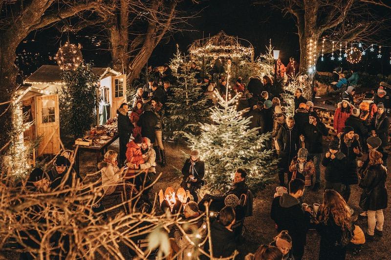 Salzburg im Winter Franziskischlössl