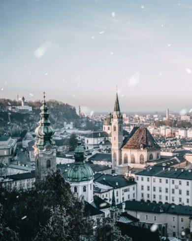 Salzburg im Winter Weihnachten