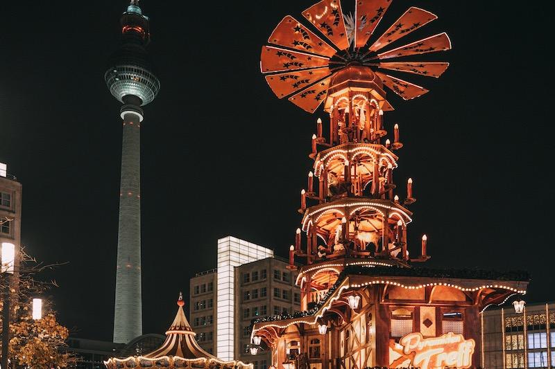 Weihnachtsmärkte in Berlin Alexanderplatz