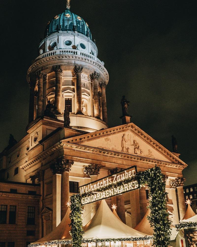 Weihnachtsmärkte in Berlin Gendarmenmarkt
