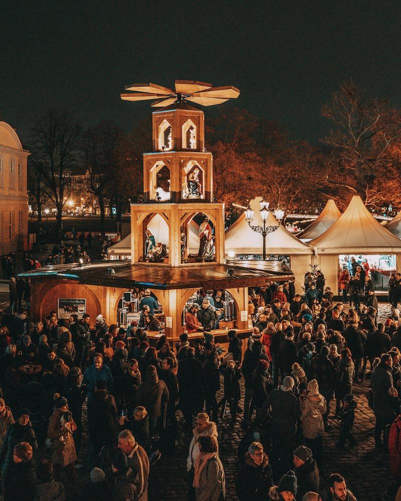 Weihnachtsmärkte in Berlin Schloss Charlottenburg