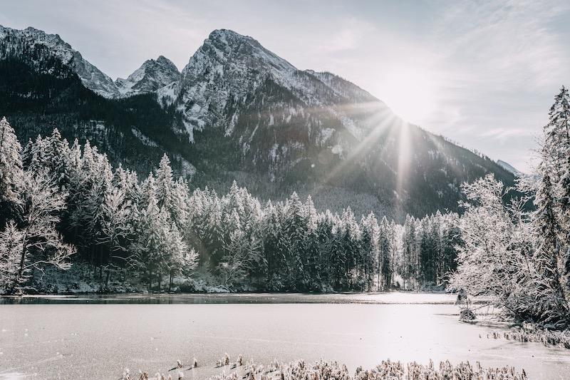 Berchtesgaden Hintersee Winter