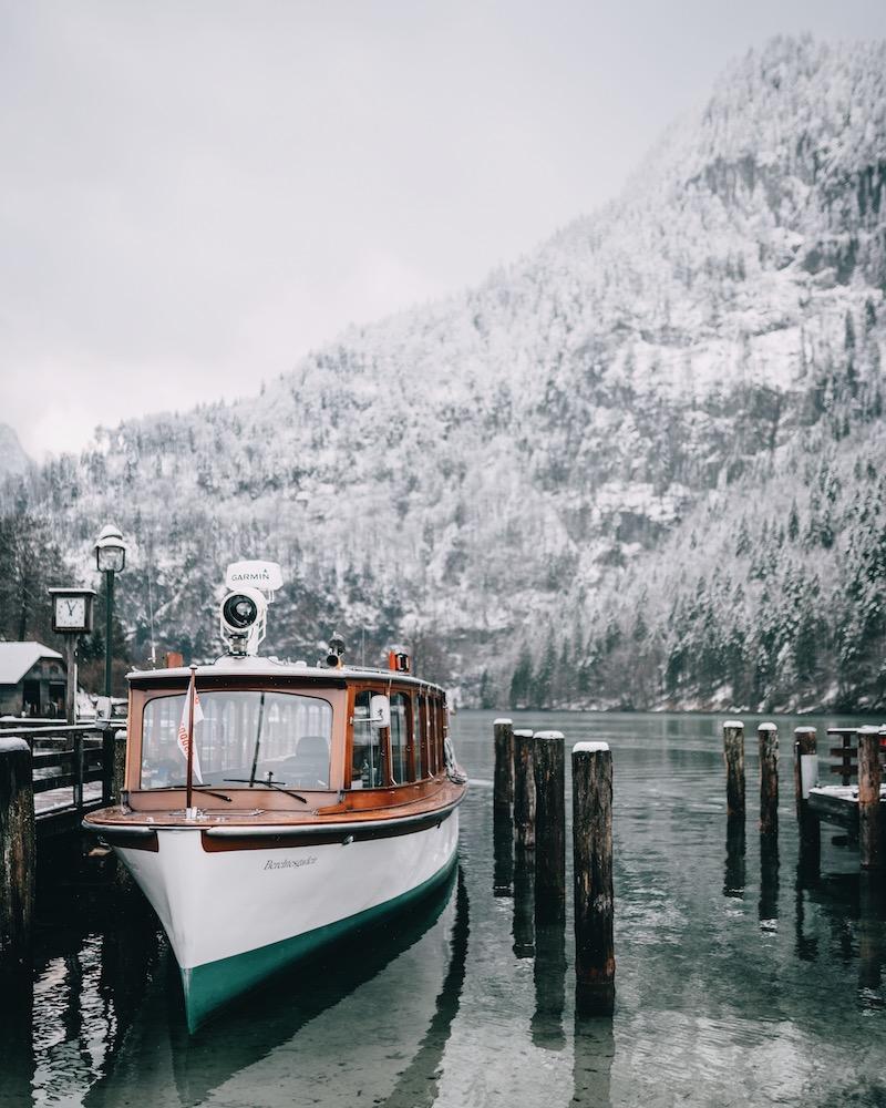 Berchtesgaden Königssee Schiff