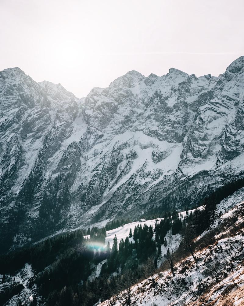 Berchtesgaden Rossfeldpanoramastraße