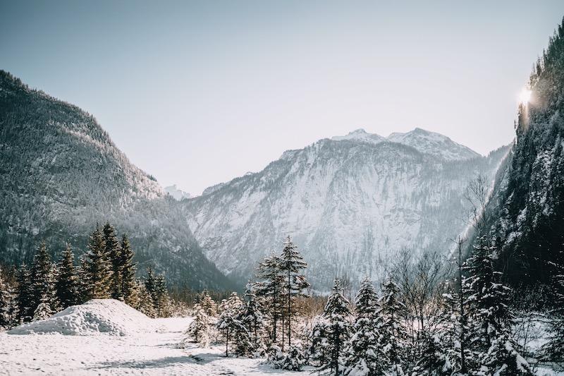 Berchtesgaden Wanderung Eiskapelle