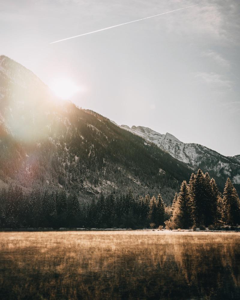 Hintersee Berchtesgaden Winter