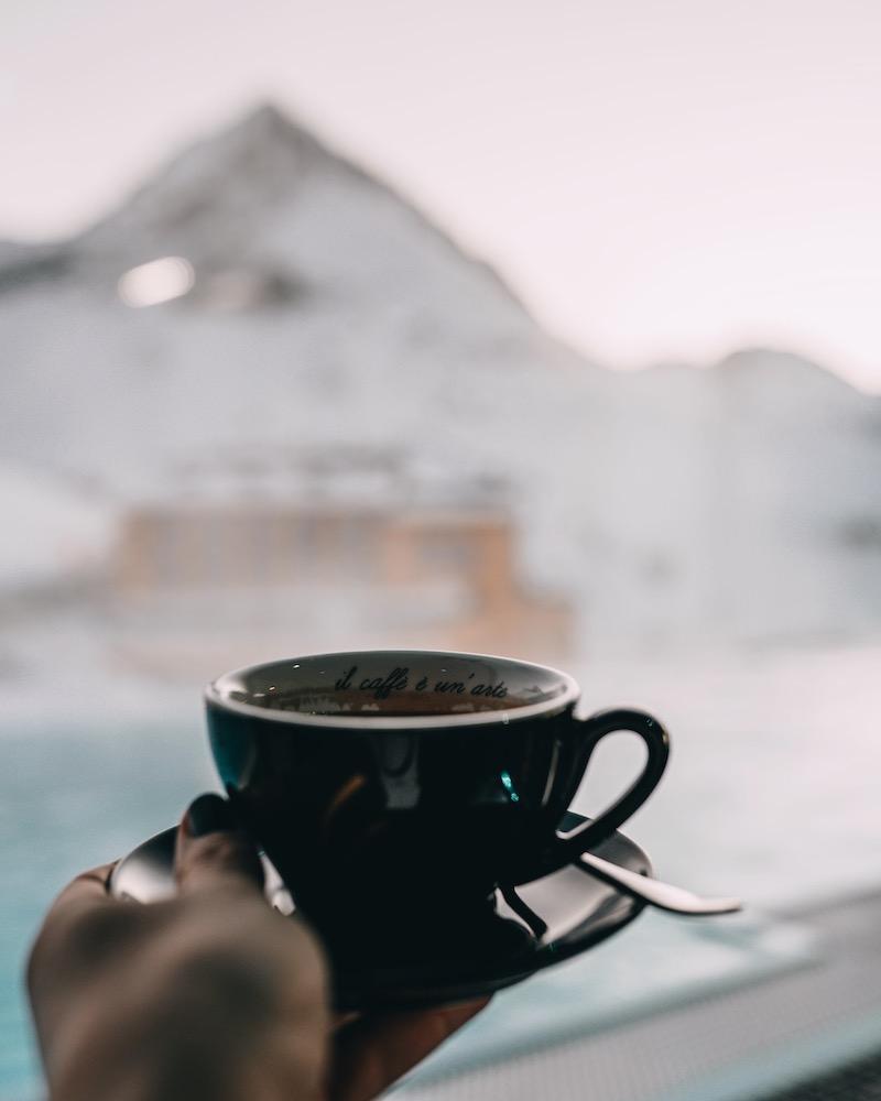 Hotel Mooshaus Kühtai Kaffee