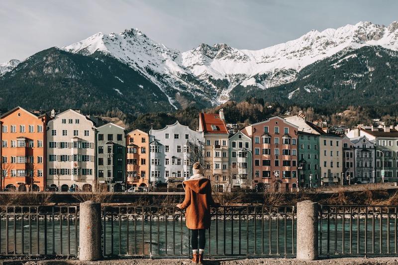 Innsbruck bunte Häuser