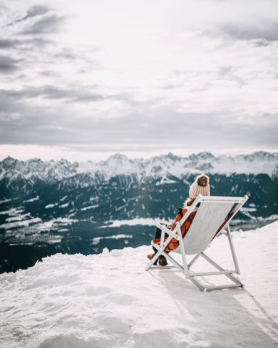 Innsbruck im Winter Nordkette