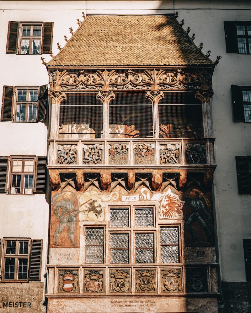 Innsbruck Tipps Goldenes Dachl